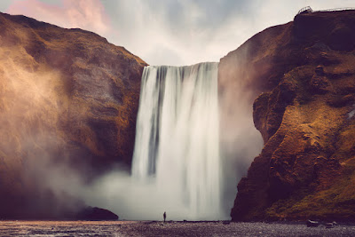 Cascada de Skogafoss - Viajando por el sur de Islandia