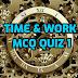 Time & Work MCQ Series Quiz 1