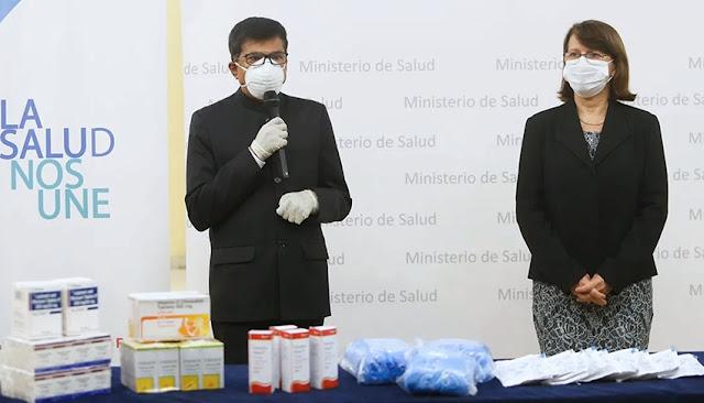 Ministerio de Salud y la India trabajaran para revalorar la medicina tradicional frente a lucha contra el Covid-19