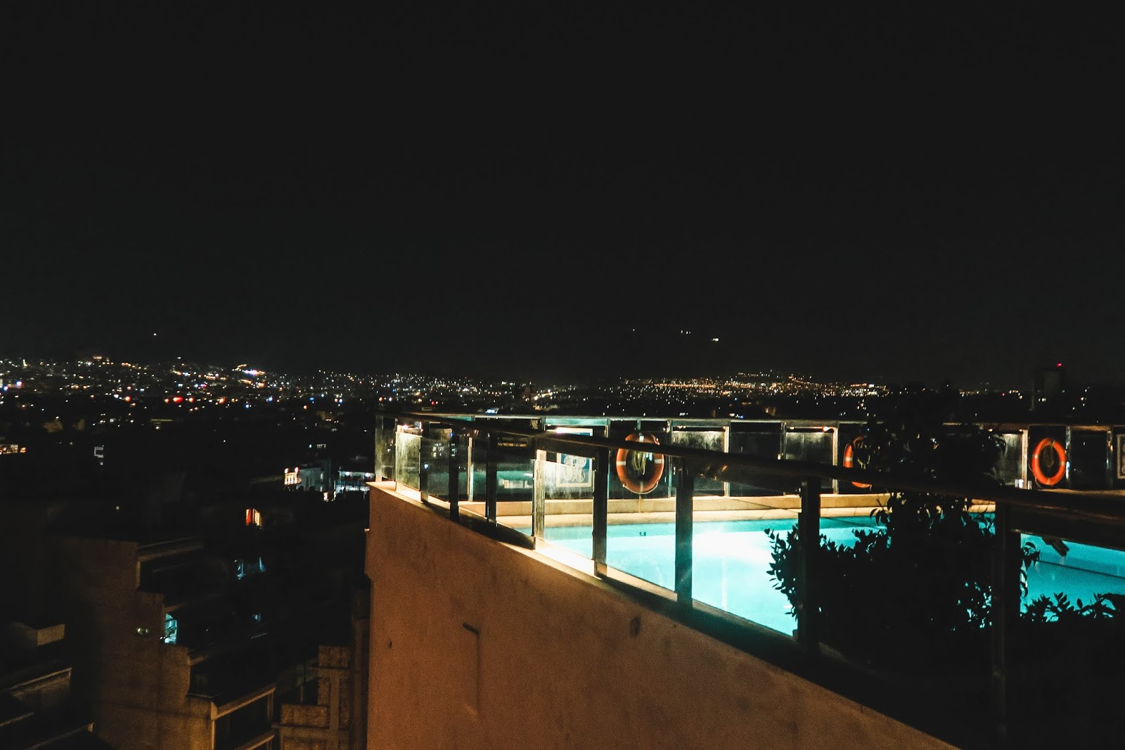 Athens Greece Rooftop