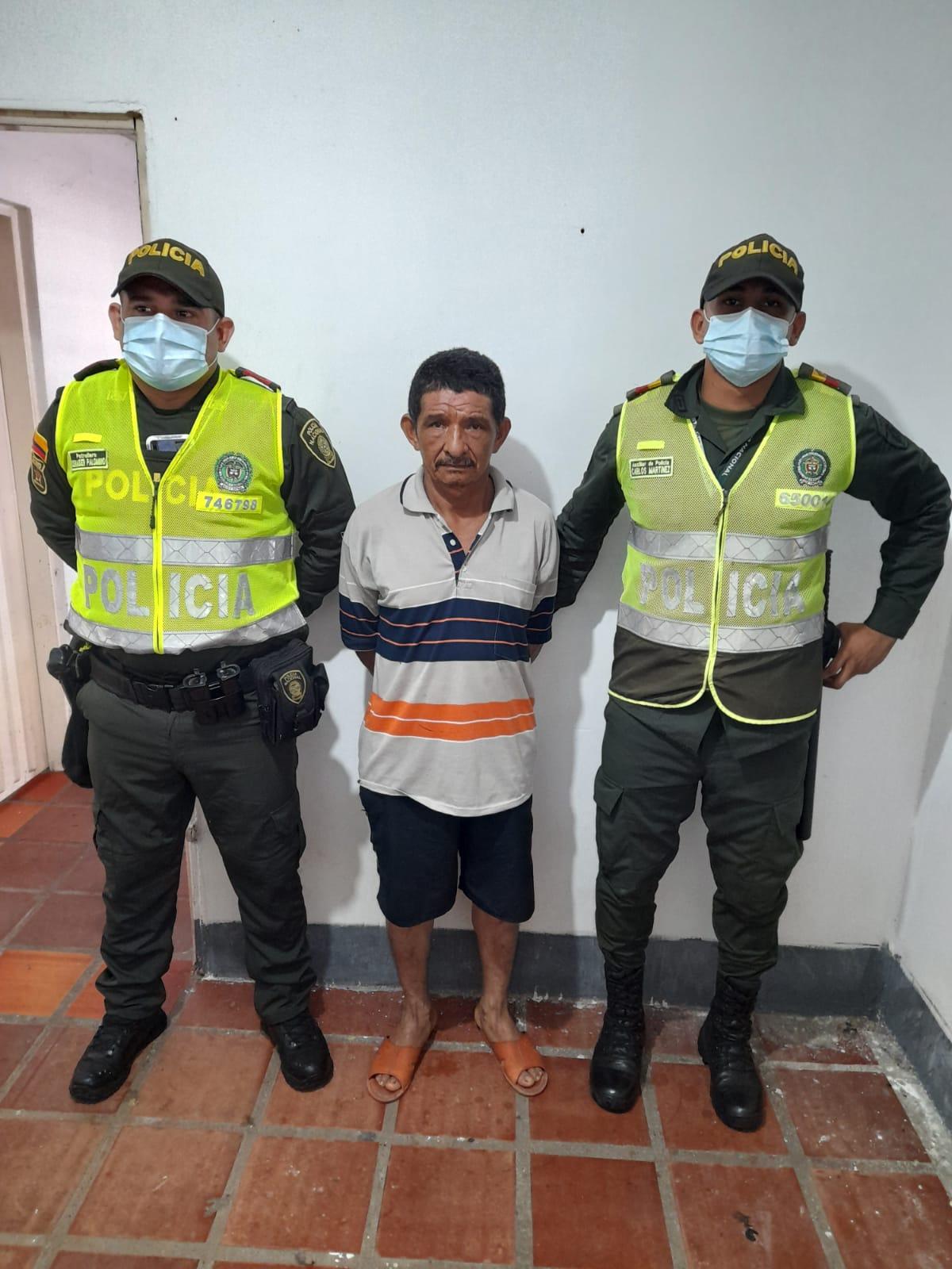 https://www.notasrosas.comPor Homicidio, Policía Cesar captura un ciudadano en Valledupar