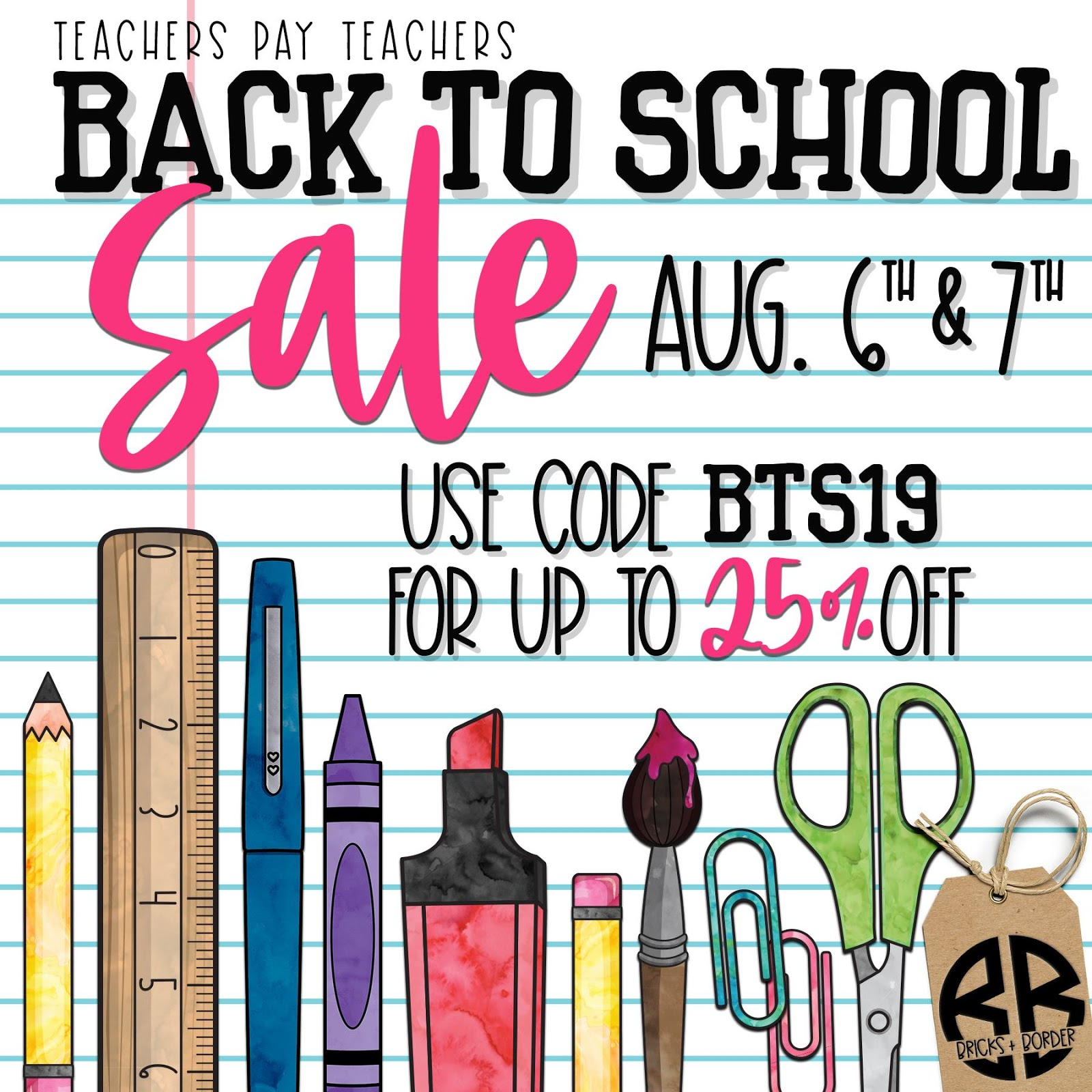 Find great deals for the start of school & the rest of the year at The ESL Nexus during TpT's BTS Sale on August 6 & 7, 2019!