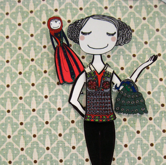 Lausnotebook june paper doll for Can i work in germany with carta di soggiorno