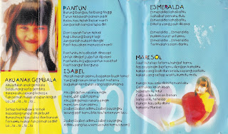 saskia geofanny album impian chabelita www.sampulkasetanak.blogspot.co.id