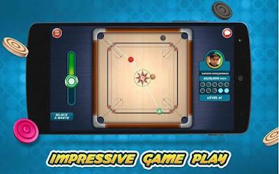 permainan karambol terbaik Carrom Live 3D