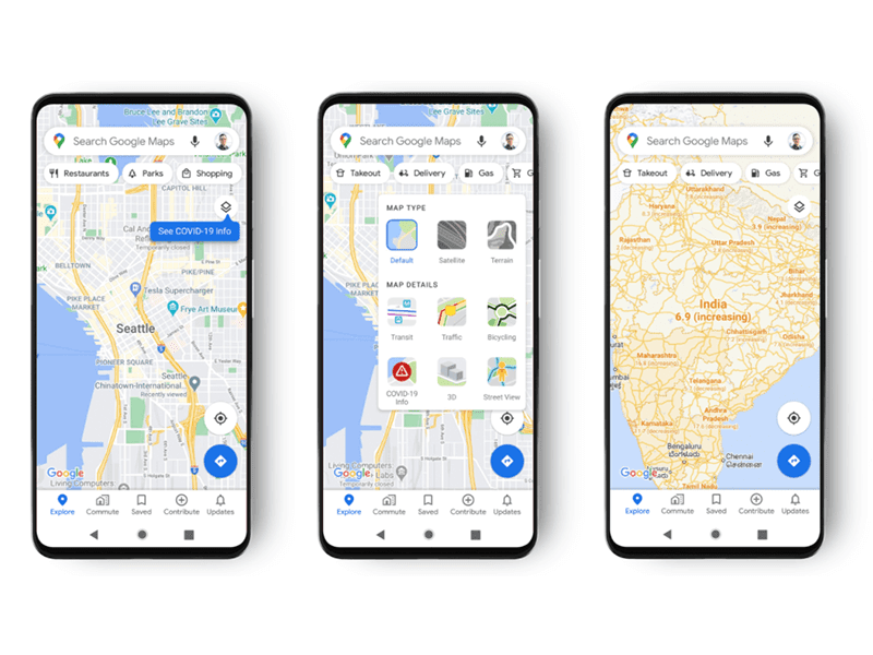 Google Maps will soon show COVID-19 affected areas with new update!