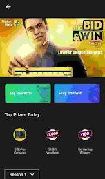 Flipkart bid and win contest