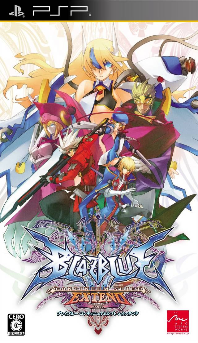 Blazblue - Continuum Shift Extend - PSP - ISO Download