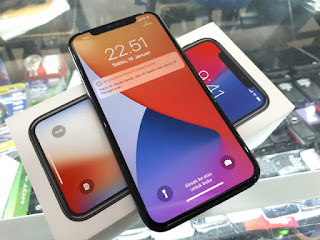iPhone X 64GB Space Grey 4G LTE Fullset Normal