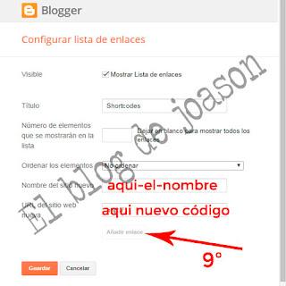 Shortcodes Blogger al estilo de WordPress lo creamos