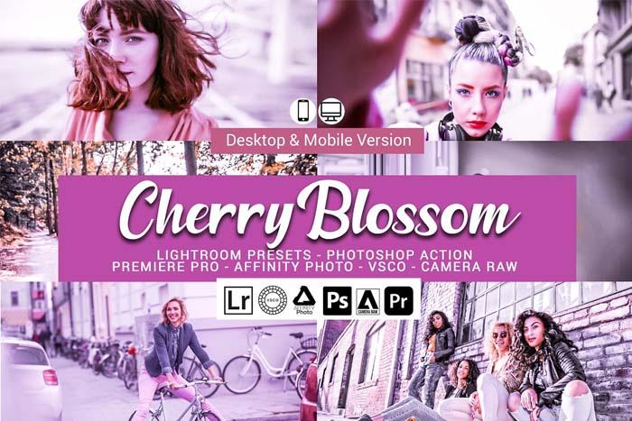 Cherry Blossom Lightroom Presets
