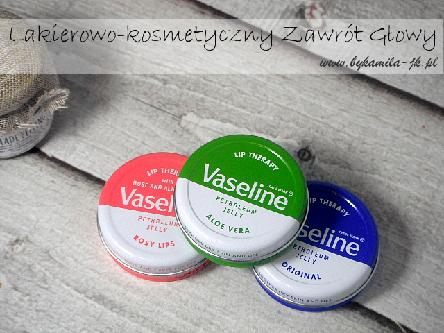 Vaseline wazelina do ust Lip Therapy Rose Lips Aloe Vera Original