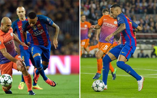 Neymar arruina en 45 minutos la estrategia de Nike y Jordan para el fútbol