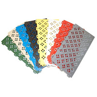 Greatmats perforated playground tiles colors