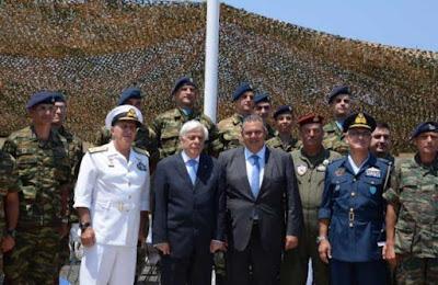 Παυλόπουλος: Δεν υπάρχουν άλλες Ένοπλες Δυνάμεις στην Ευρώπη που πρέπει να έχουν τέτοια ετοιμότητα