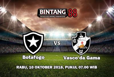 Prediksi Botafogo vs Vasco da Gama 10 Oktober 2018