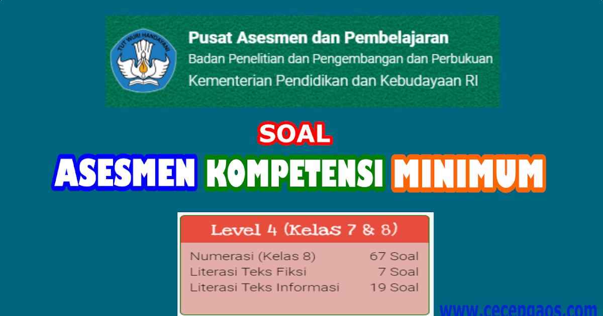 Ayo coba akm!melakukan ujicoba soal. Contoh Soal Akm Online Level 4 Kelas 7 Dan 8 Smp Cecepgaos Com