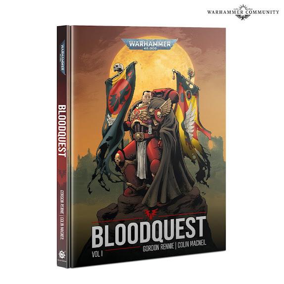 novela gráfica Bloodquest