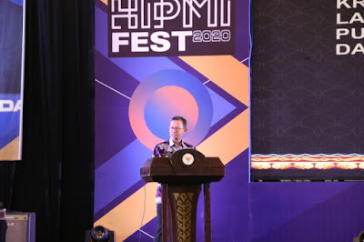 Sekda Provinsi Lampung Buka Gelaran Hipmi Fest 2020