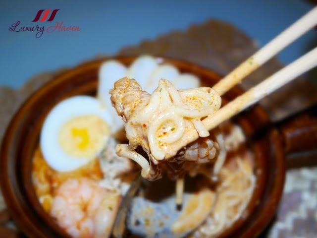 tasty prima taste claypot laksa lamian review