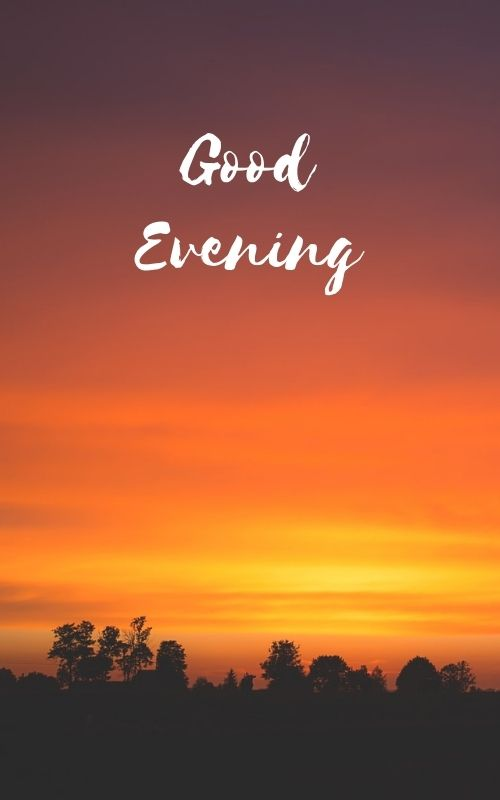 Nice Good Evening Photo