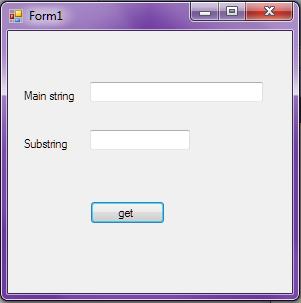 Visual Basic Dot Net Code: vb net string indexof() ?