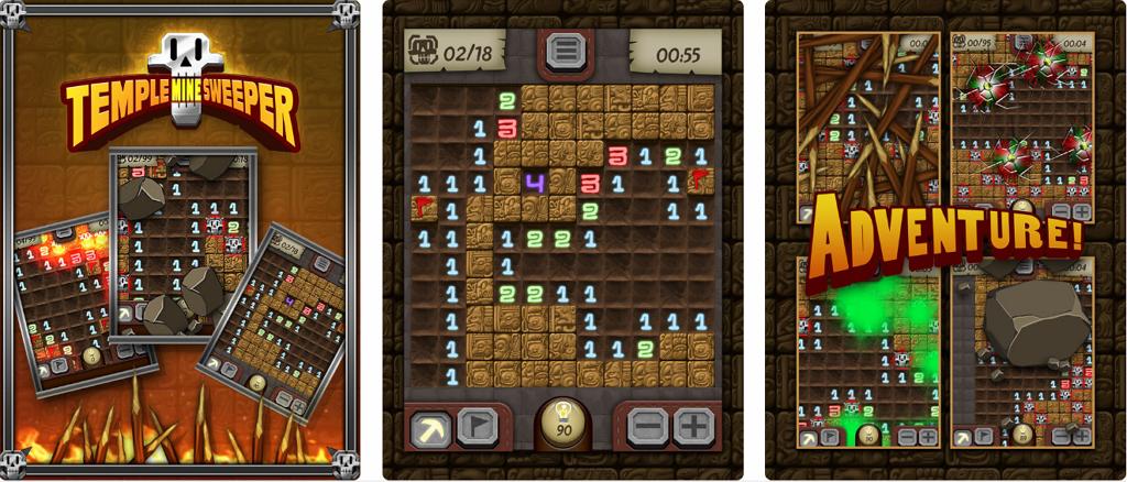 Temple Minesweeper 華麗版踩地雷