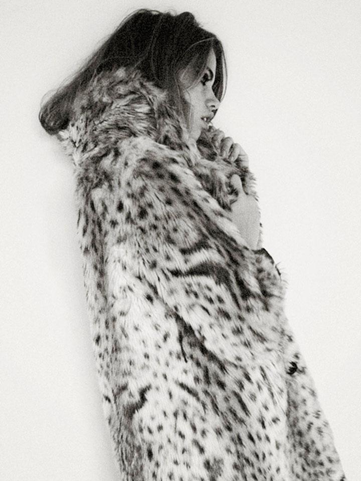 leopard print editorial