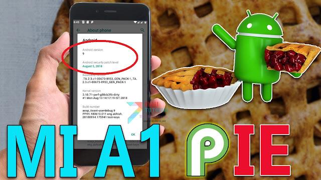 Inikah yang Kamu Cari: Cara Install Rom Android 9 Pie di Xiaomi Mi A1 AOSP?