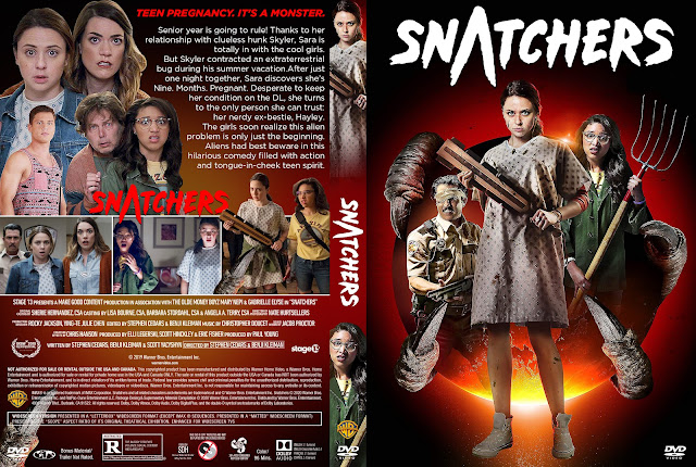 Snatchers DVD Cover