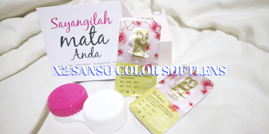 X2 Sanso Color by X2 Softlens - ALICE OLICE