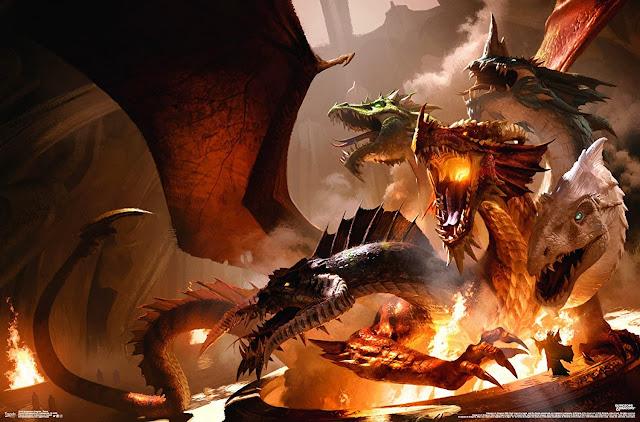La religión en los mundos de Dungeons & Dragons - Tiamat