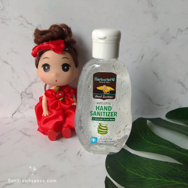 Review Herborist Aloe Vera Gel  Hand Sanitizer
