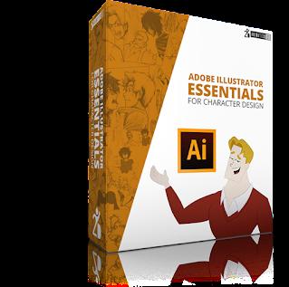 Illustrator Essentials for Character Design Bonus Course.