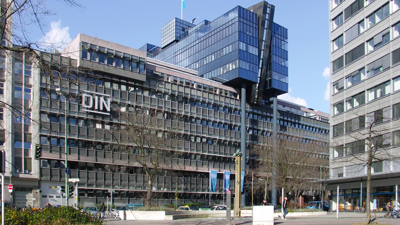 штаб-квартира DIN в берлине