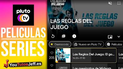 Ver Peliculas y Series Gratis, Descargar Pluto TV Android o iOS
