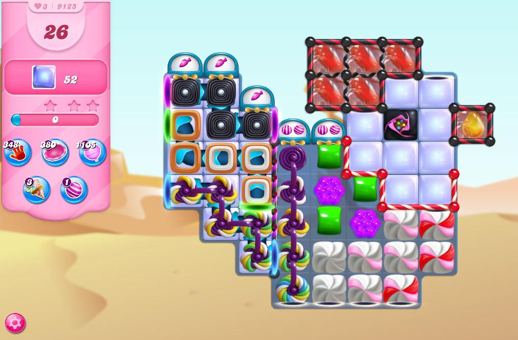 Candy Crush Saga level 9125