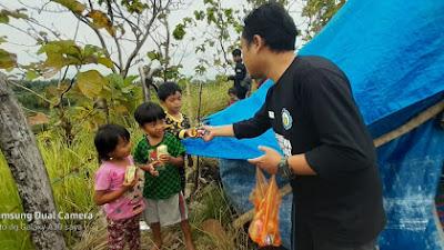 ITS-BMH Salurkan Bantuan di Daerah Pengungsian Terisolir Majene