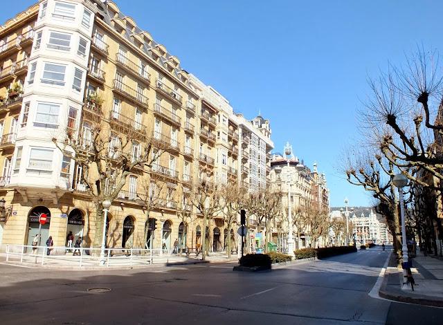 paseo por San Sebastián