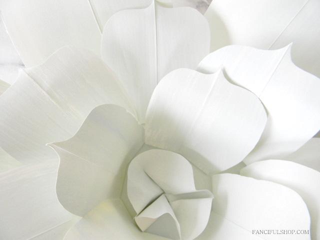 Paris atelier fanciful designs on martha stewart tomorrow for Paper flower templates martha stewart