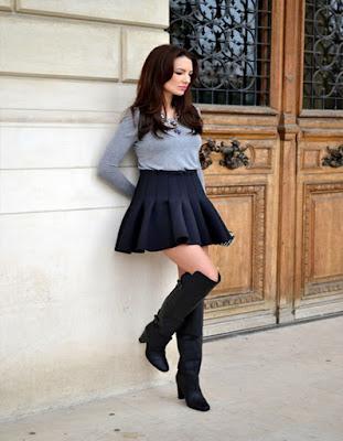 outfits casuales con faldas super elegantes