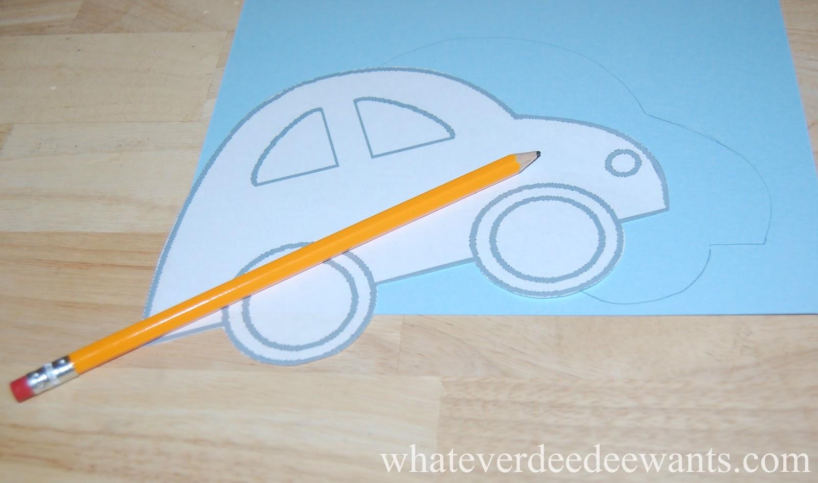 Whatever Dee-Dee wants, she's gonna get it: DIY Kids Sewing Card