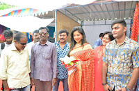 Sakshi Agarwal  in Orange Saree at Inauguration of Handloom And Handicraft exhibition ~  Exclusive 33.JPG