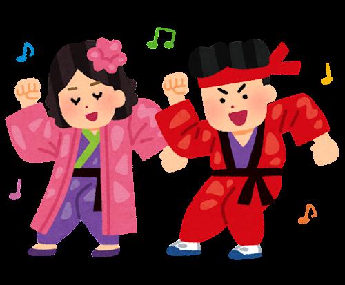 竹の子族のイラスト