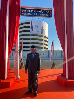 Pemerintah UEA Resmikan Jalan Presiden Joko Widodo di Abu Dhabi