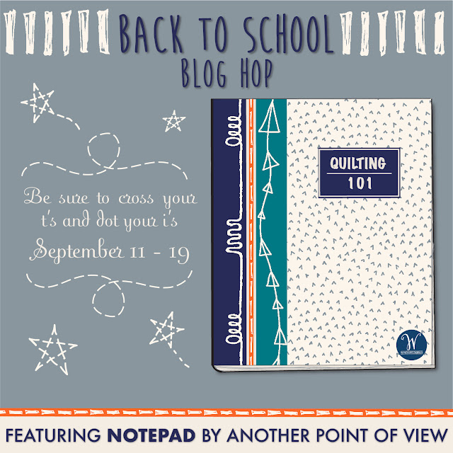 Back To School 2017 Blog Hop For Windham Fabrics by www.madebyChrissieD.com