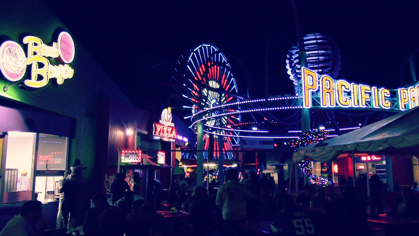Santa Monica Pier, Los Angeles