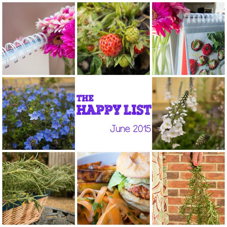The Happy List   June 2015