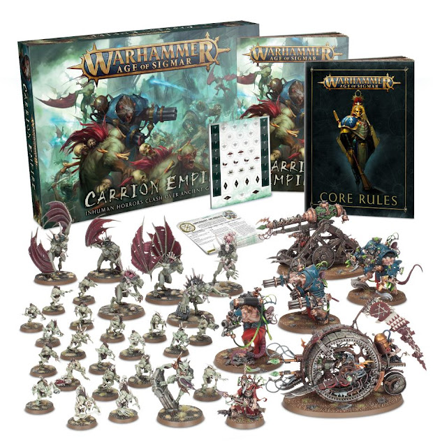Element Games: New Discounted Age of Sigmar Carrion Empire Boxed Set