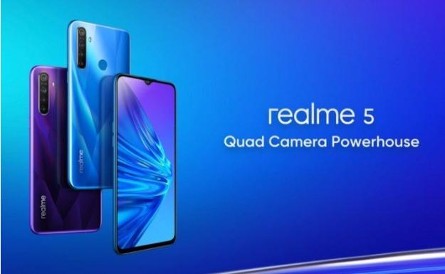 Wow! Realme 5 dan Realme 5 Pro Hadir dengan Empat Kamera
